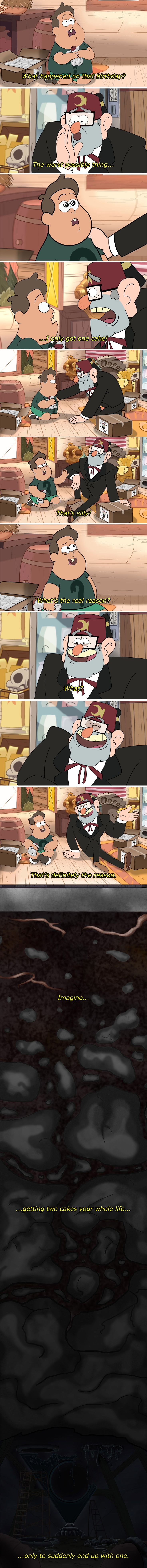 Soos learns he isn't the only one who doesn't like his own birthday