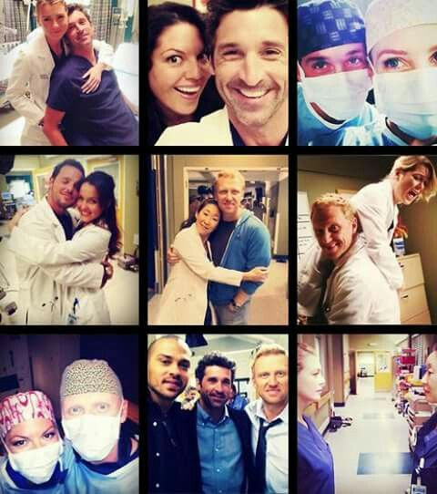 Grey's Anatomy | Tv shows | Greys anatomy cast, Greys ...