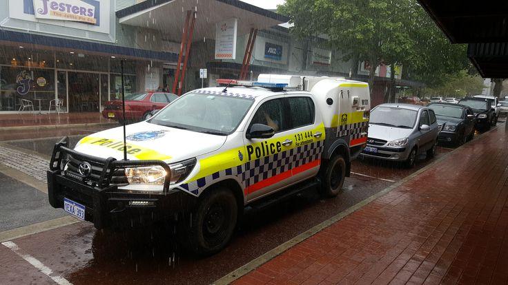 Western Australia Police Toyota Fd Pd Ems Western