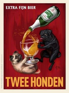 Twee Honden - Extra Fijn Bier