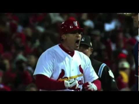 Highlights of Cardinals vs. Rangers 2011 World Series (best series ever played!!!)  GO CARDS!