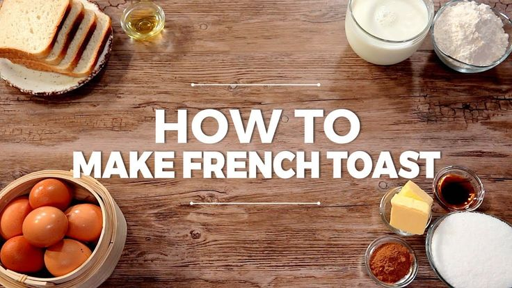 What's a breakfast without a French toast? Forget those gloomy days without them and learn how to make the perfect French toast!  --------------------- Follow us on: Facebook: http://sodl.co/2dRsH0l Instagram: http://sodl.co/2eMvdCP  Twitter: https://twitter.com/sodlco  Pinterest: http://sodl.co/2jq3kHY