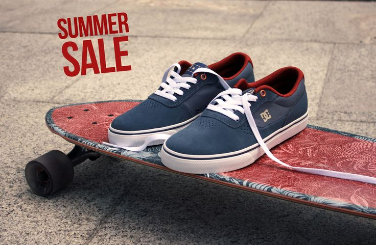 DC Shoes, DC skate shoes, Globe longboards, DC Switch S Vintage Indigo