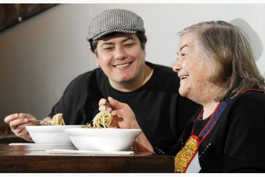 Long before Black Skirt restaurant closed, co-owner/chef Agata Decina cooked with her mother Rosa Decina, who had Alzheimer's, for a story in 2011.