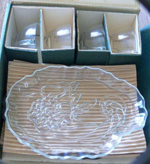 Images about vintage snack plate sets on pinterest