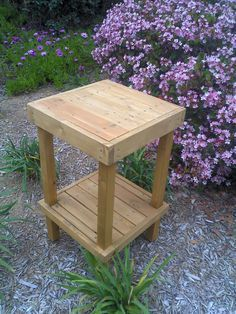 DIY  PLANS to make    Wooden  Plant Stand  by wingstoshop on Etsy, $10.00