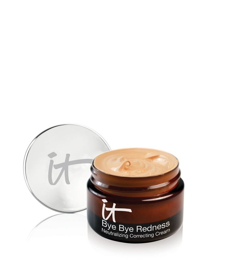 IT Cosmetics Bye Bye Redness Correcting Cream ($32)  magically erases any trace of redness on your face by not only hiding it with powerful pigments, but soothing skin with ingredients like colloidal oatmeal and aloe.