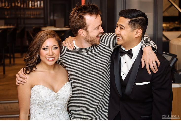 aaron paul wedding photo