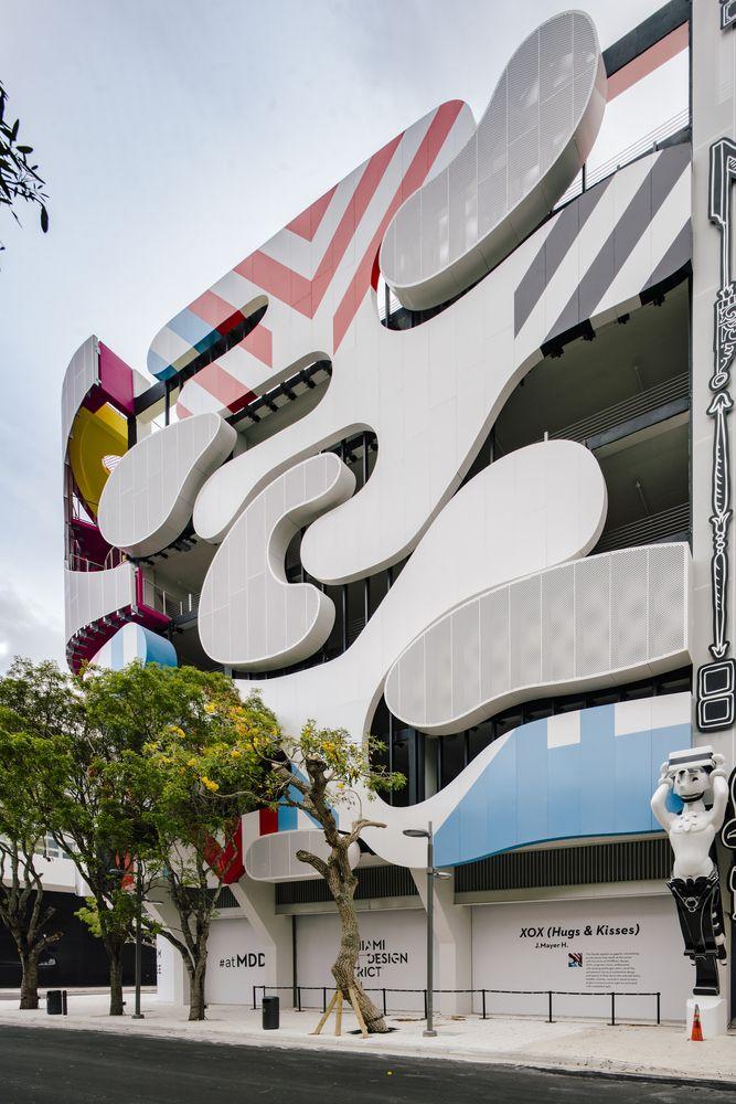 Gallery Of Miami Museum Garage Workac Nicolas Buffe Clavel Arquitectos K R And J Mayer H 12 Architecture Exterior Design Garage Pictures
