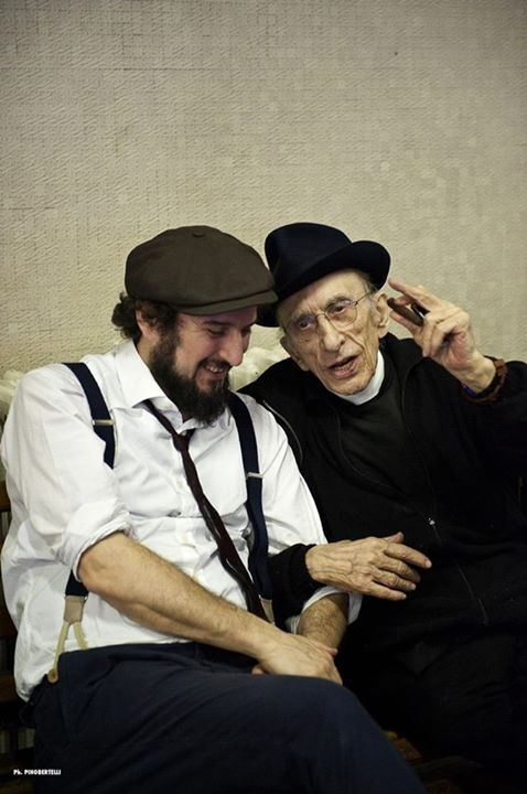 Don Gallo e Vinicio Capossela