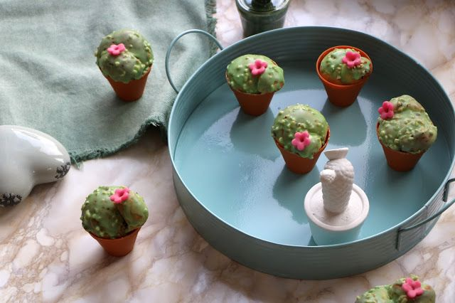 Brioches cactus au thé matcha {Battle food}