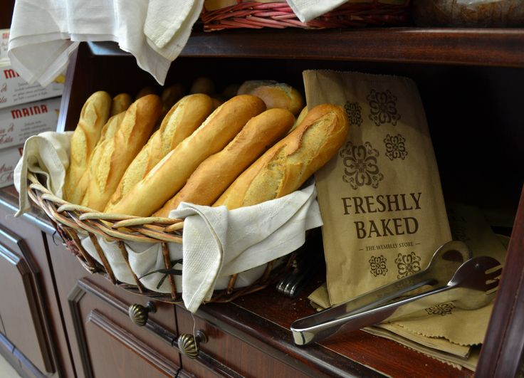 There's nothing like the aroma of freshly baked baguettes.