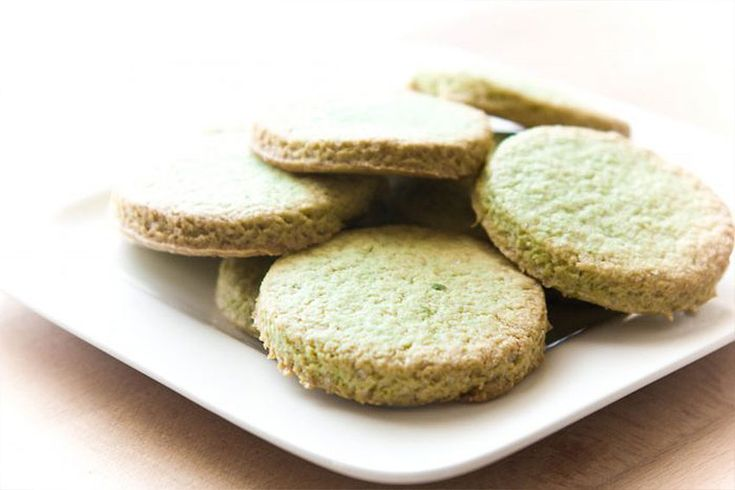 Recept   Matcha groene thee shortbread koekjes