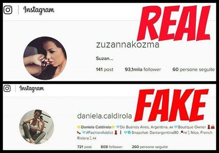 @daniela.caldirola pretends to be @zuzannakozma on Instagram. #danielacaldirola #fake #fakeprofile #instafake #fakeofzuzannakozma #zuzannakozma #stopfake #stopfakes #stopfaking #beoriginal #beyourself #fakehunters