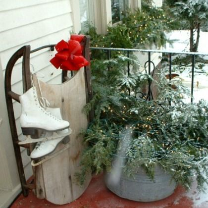 1000 images about holiday decor on pinterest for Decoration glace