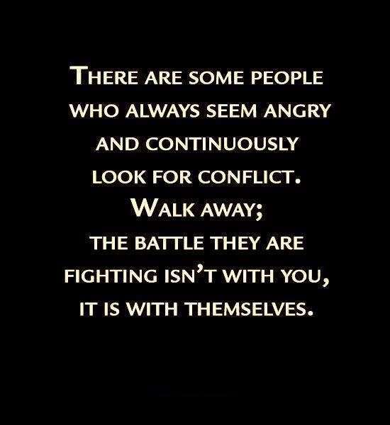 images about  peace of mind the power of positive thinking    quotes about being assertive during conflict   walking away