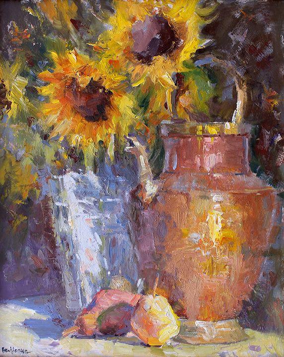 Brent Jensen-Waterhouse Gallery- Plein Air Impressionist ...