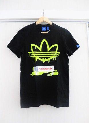 Kupuj mé předměty na #vinted http://www.vinted.cz/damske-obleceni/tricka/16258688-designove-triko-adidas-s-neon-potiskem-ve-skatehiphopstreet-stylu