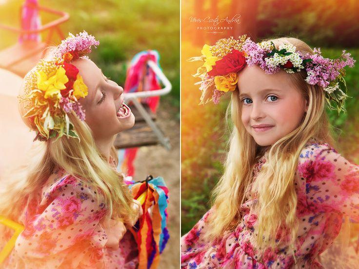 summer, dreamland, whirligig, girl, csutafoto, syringa, rose