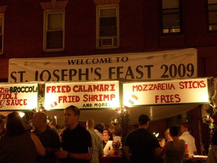 F! Challenge: Feast of St. Joseph, Boston's North End