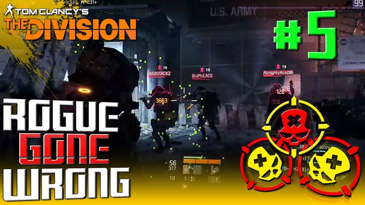 "Tom Clancy's The Division: ""Rogue"" Gone Wrong PvP Gameplay - [The Dark Z..."