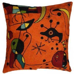 Contemporary Throw PIllows – Miro Pillow, Red