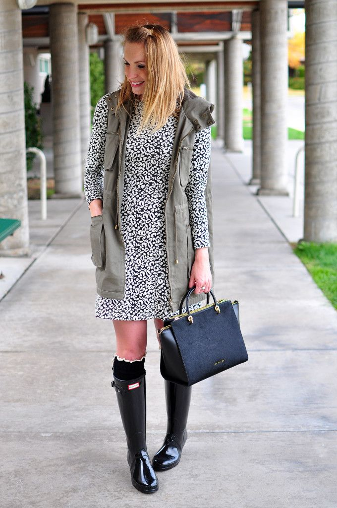 394 best images about Hunter Boots/Rain Outfits on Pinterest | Cute rainy day outfits Hunters ...