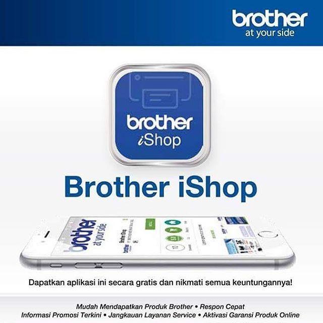 Download Brother iShop sekarang juga ya #Brother & #Sister! Selain banyak keuntungan yang didapat, Brother & Sister juga bisa memenangkan pulsa total 25 juta rupiah loh! #BrotheriShop #BrotherIndonesia #AtYourSide