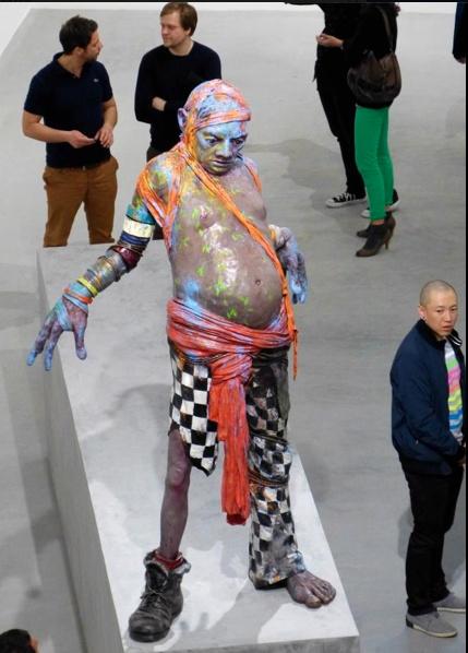 """""""Gift gegen Zeit"""" exhibition Jonas Burgert http://www.jonasburgert.de"""