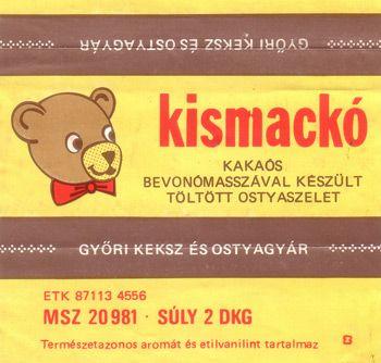 Kismackó csokoládé