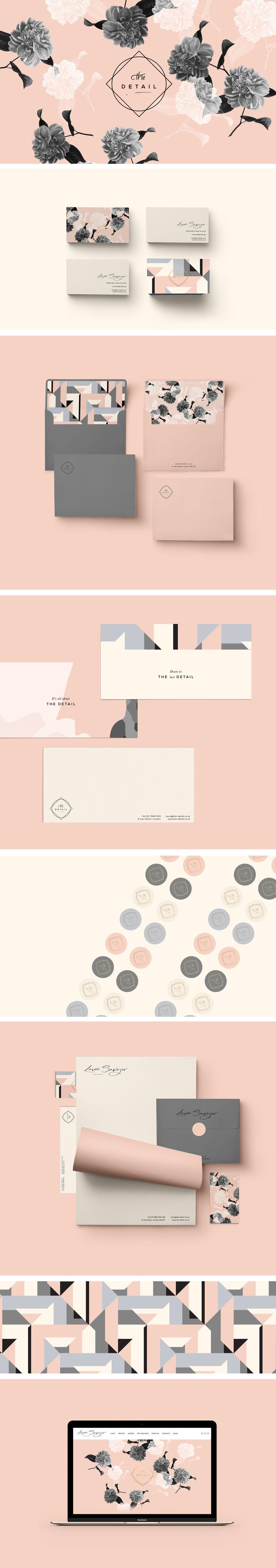Laura Sawyer Brand Identity by Cocorrina                                                                                                                                                                                 More