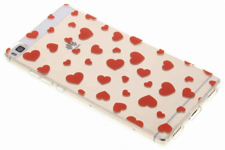 Red Hearts Case for Huawei P8