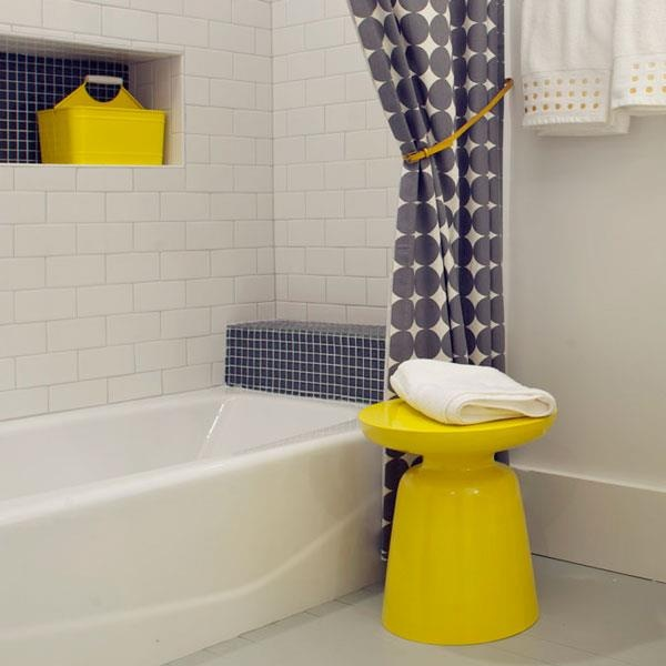 bathroom grayyellow
