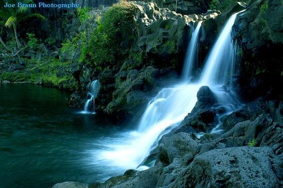 Seven Sacred Pools, Halakeala National Park, Hawaii. The ...