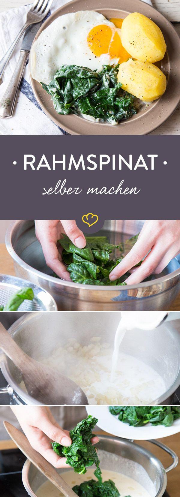 Alles was du über Spinat wissen musst: Wir erklären dir, wie du frischen Spinat zubereitest und wie du Rahmspinat ohne Blubb aber mit Liebe kochst!