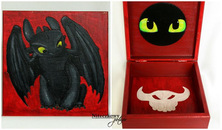 Little chest with Toothless.