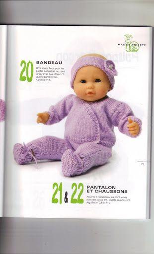 Panoplie tricot très complète pour petit poupon https://picasaweb.google.com/115152880352965403358/HabitsPoupon?noredirect=1