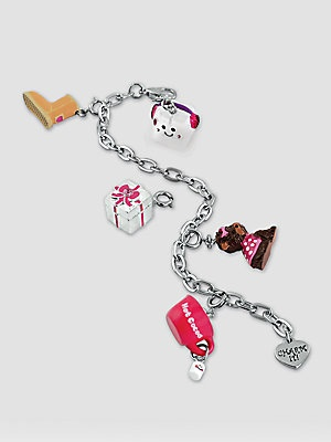 Girl's Six-Piece Bracelet & Charms Gift Set $45