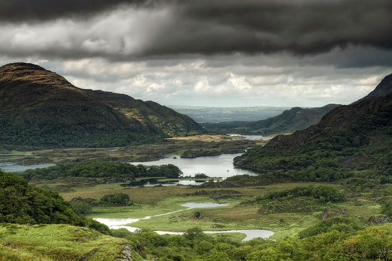Irish Landscapes  Ring of Kerry Ireland  18X12 by viewsofireland, €40.00  Ladies View in Killarney National Park, Ireland. Breath taking views!