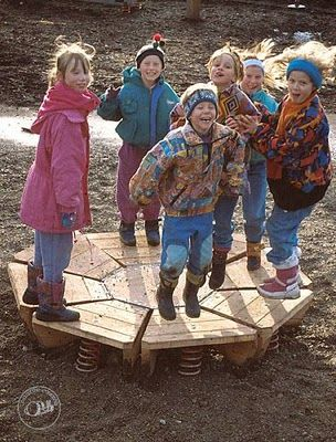 let the children play: preschool outdoor playscape dreaming