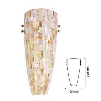 #Arbotante #Decorativo de la Línea Shell de #TecnoliteHome de #Iluminatuespacio.com