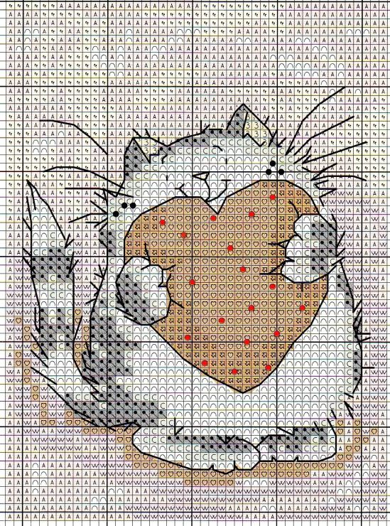 - Cross Stitch Crazy cat tymannost