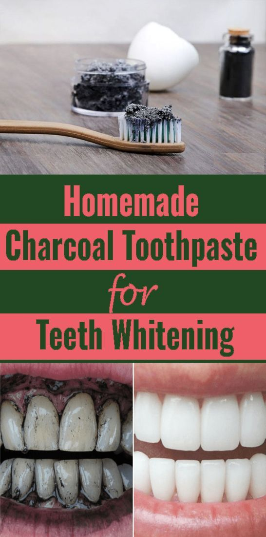 Use charcoal to whiten your teeth without any chem…