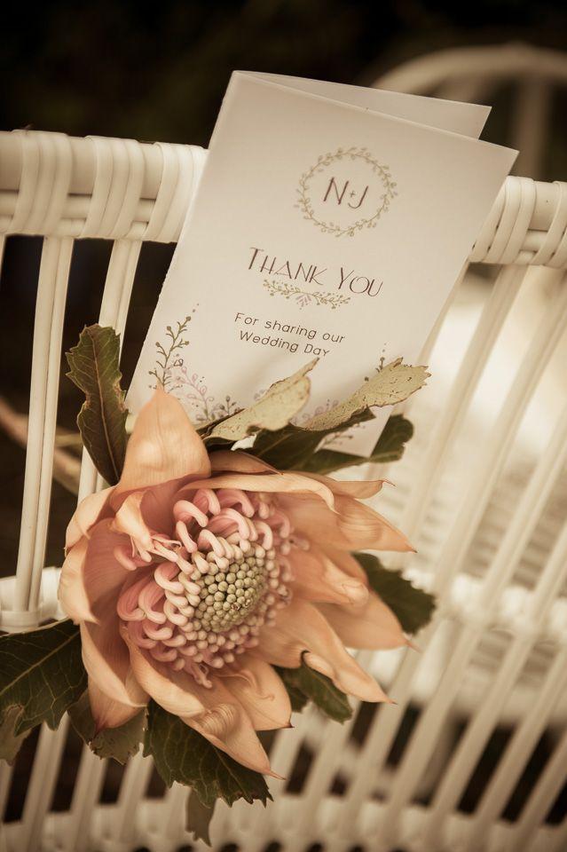 Vintage Bride ~ Pastel Boho Garden Wedding Elopement ~ Photography by Newcastle Photography ~ Stationery by Avellino Creative ~ [vintagebridemag.com.au] ~ #vintagebride #vintagewedding #vintagebridemagazine