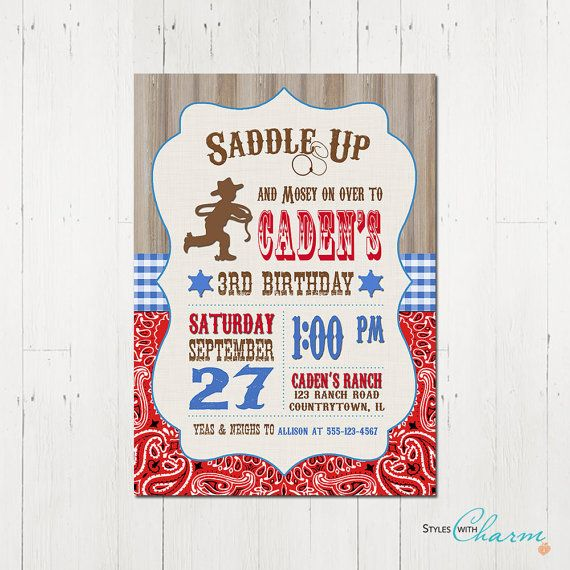 7 best Coltons Cowboy Party images on Pinterest Birthday