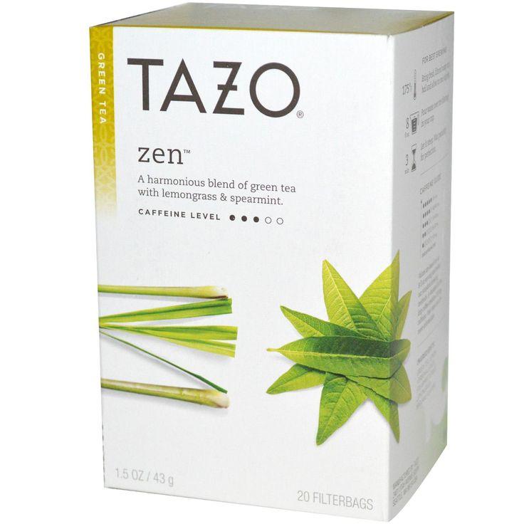 Tazo Teas, Zen, Green Tea, 20 Filterbags, 1.5 oz (43 g)