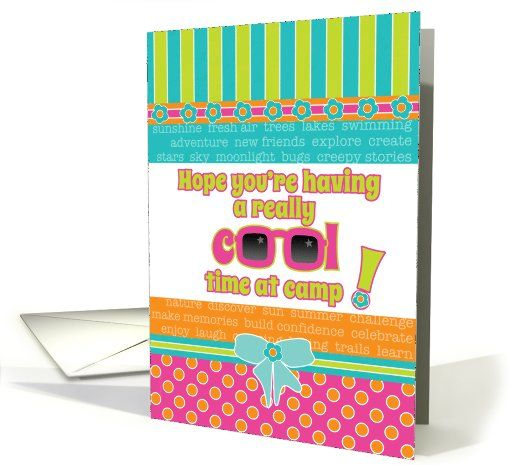 Best Summer Camp Letters Images On   Camp Letters