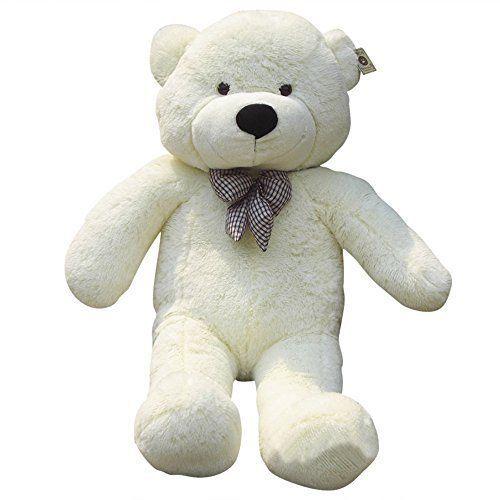 Lanna Siam® Teddybär xxl RIESEN - XXL Großer Teddybär 100 cm, Valentinstag, Liebe, Geschenk, Backform, Backen