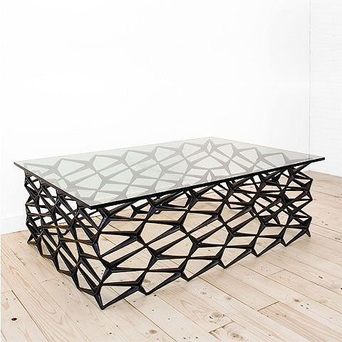 Repurposed Fenced Modern Coffee Table By Jason Horvath