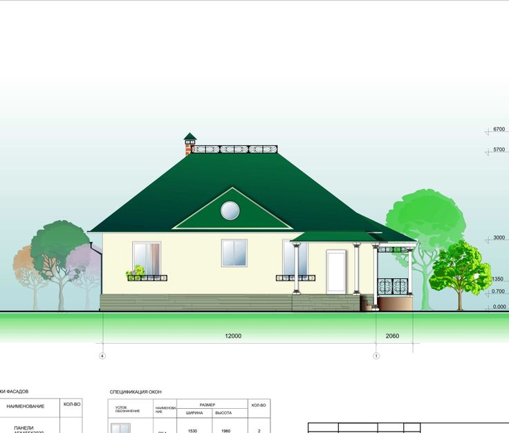 An exclusive project of a house with winter garden for Siberia  (available at http://www.epstroi.ru)